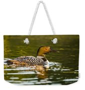 Common Loon Pictures 145 Weekender Tote Bag