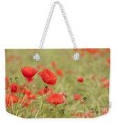 Common Poppies Weekender Tote Bag