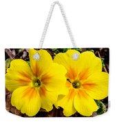 Common Primrose 1 Weekender Tote Bag