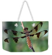 Common White-tail Dragonfly Weekender Tote Bag