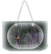 Common Yellowthroat - Bird Weekender Tote Bag
