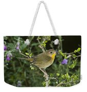 Common Yellowthroat Hen Weekender Tote Bag