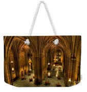 Commons Room Cathedral Of Learning University Of Pittsburgh Weekender Tote Bag