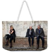 Communication Weekender Tote Bag