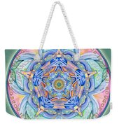 Compassion Mandala Weekender Tote Bag