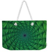 Complex Convexity Cavern Moss And Blue Weekender Tote Bag