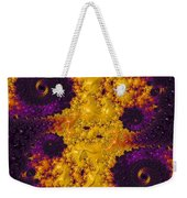Complimentary - Yellow And Purple Weekender Tote Bag