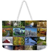Composite Of Photographs From Various Weekender Tote Bag