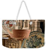 Composition For Poster Xiv Jornadas De Estudios Calagurritanos Weekender Tote Bag