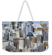 Composition Looking East Weekender Tote Bag by Catherine Abel