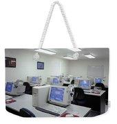 Computer Lab, C1990 Weekender Tote Bag