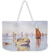 Concarneau   Quiet Morning Weekender Tote Bag by Paul Signac