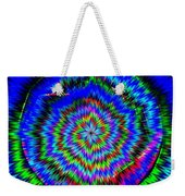 Concentric Hypnotic Circles 1 Weekender Tote Bag