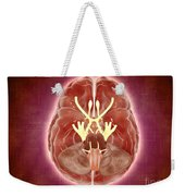 Conceptual Image Of Cranial Nerves Weekender Tote Bag