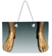 Conceptual Image Of Human Legs And Feet Weekender Tote Bag