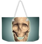 Conceptual Image Of Human Skull, Front Weekender Tote Bag by Stocktrek Images