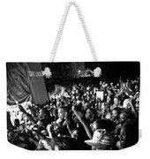 Concert Crowd Weekender Tote Bag