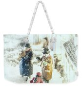 Concert In The Snow Weekender Tote Bag
