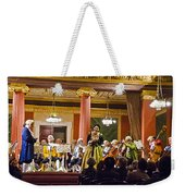 Concert In Vienna Weekender Tote Bag