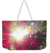 Concert Lights Weekender Tote Bag