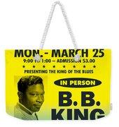 Concert Poster Weekender Tote Bag