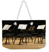 Concert Time Out Weekender Tote Bag