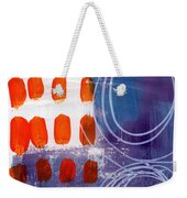 Concerto One - Abstract Art Weekender Tote Bag