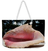 Island Conch Shell Weekender Tote Bag