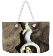 Conch Shell Spiral Weekender Tote Bag