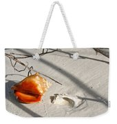 Conch With Shell In Sand I Weekender Tote Bag