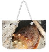 Conchs With Driftwood I Weekender Tote Bag