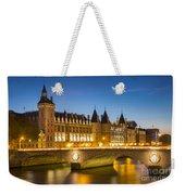 Conciergerie Twilight - River Seine Weekender Tote Bag