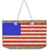 Concrete Flag Weekender Tote Bag