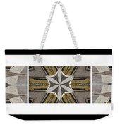 Concrete Flowers - Kaleidoscope - Pentaptych Weekender Tote Bag