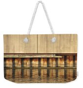 Concrete Wall And Water 1 Weekender Tote Bag