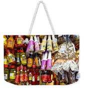 Condiments At Mercade Municipal Weekender Tote Bag