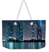 Condominium Buildings In Miami Weekender Tote Bag