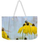 Coneflower And Bee 2  Weekender Tote Bag