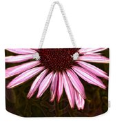 Coneflower And Dusty Miller Hdr Weekender Tote Bag