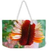 Coneflower Bloom Unspiraling Weekender Tote Bag