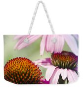 Coneflower Jewel Tones - Echinacea Weekender Tote Bag