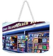 Coney Island Beach Shop Weekender Tote Bag