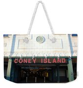 Coney Island Bmt Subway Station Weekender Tote Bag