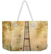 Coney Island Eiffel Tower Weekender Tote Bag