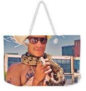 Coney Island Snake Man Weekender Tote Bag