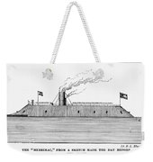 Confederate Ironclad, 1862 Weekender Tote Bag