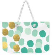 Confetti 2- Abstract Art Weekender Tote Bag
