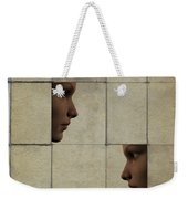 Confrontation Weekender Tote Bag by David Ridley