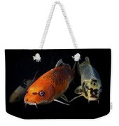 Confrontation Of 3 Koi Weekender Tote Bag