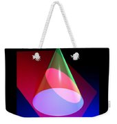 Conic Section Ellipse Poster Weekender Tote Bag